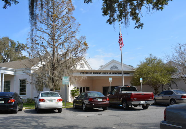 Main Library/Brooksville/Frederick Eugene Lykes Jr. Memorial Library